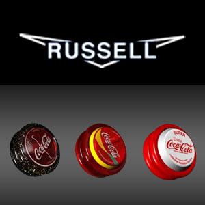 Логотип Russell и йо-йо