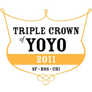 The Triple Crown of Yo-Yos